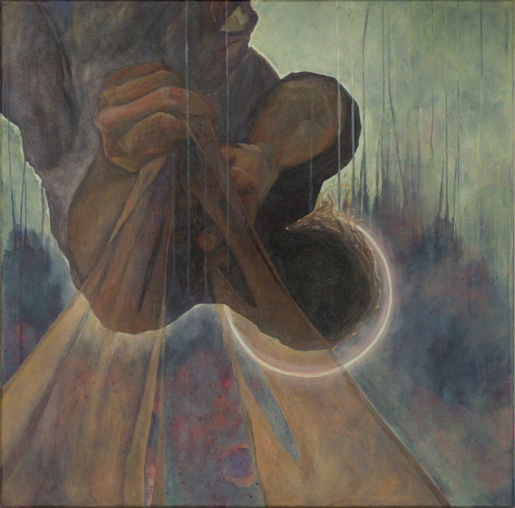Das Marsyasprojekt Die Häutung painting by Sandy Lang