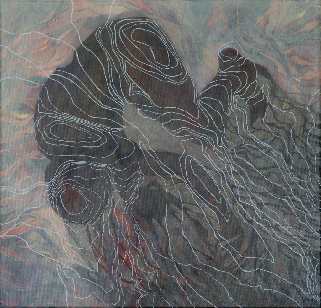 Das Marsyasprojekt Der Fluss painting by Sandy Lang