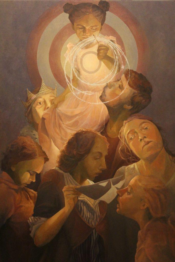 Raising Hope painting by Sandy Lang