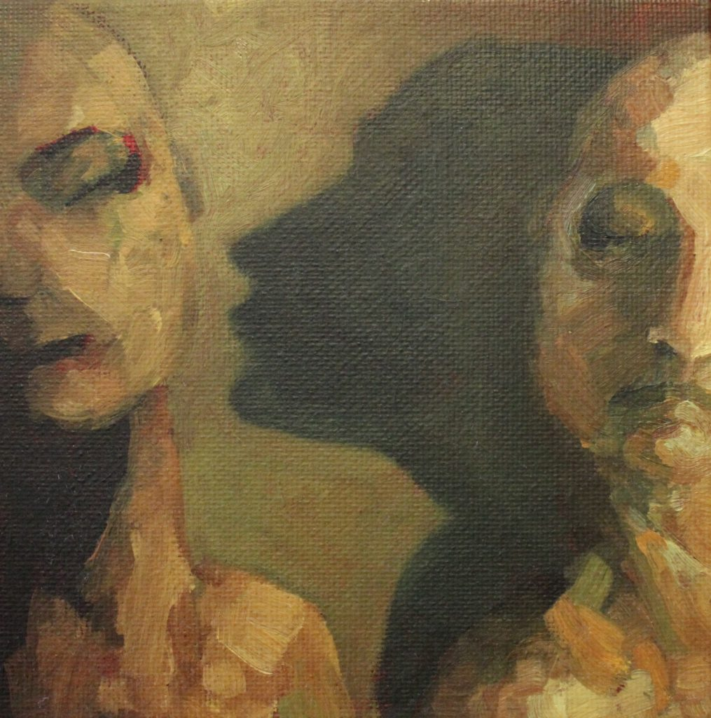 Aware painting by Sandy Lang
