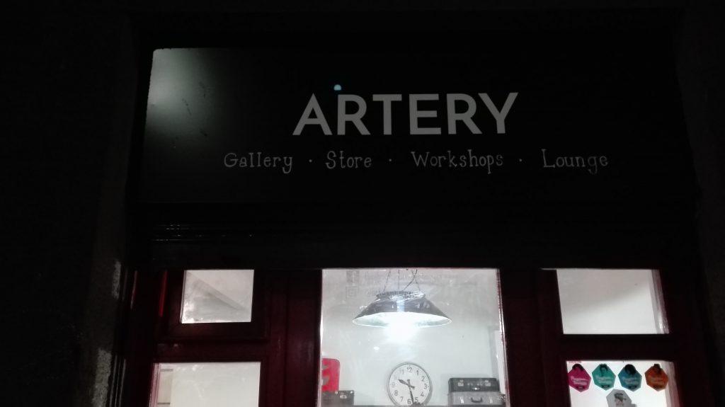 Artery Prague exhibition