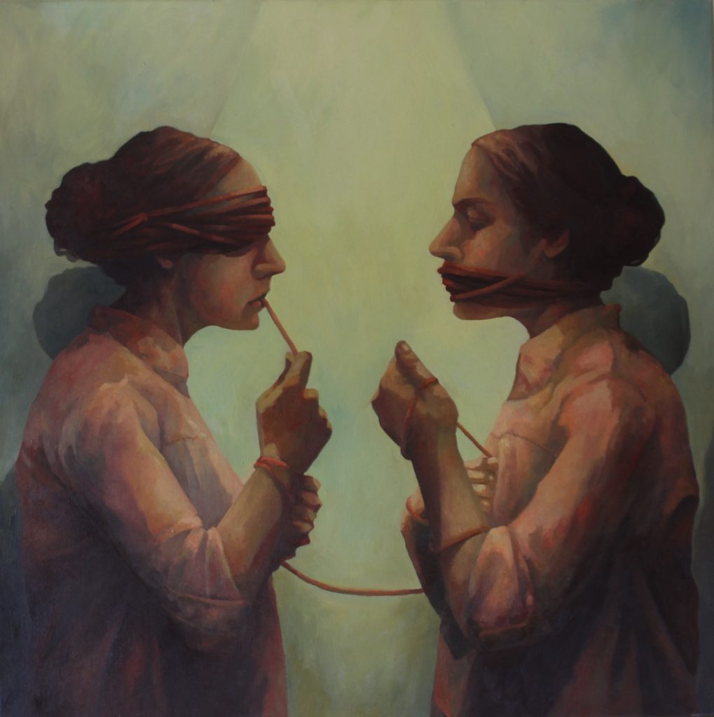 Das Eine das Andere painting by Sandy Lang
