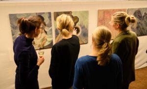 Marsyasprojekt Wiesbaden Soiree Vernissage